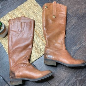 Sam Edelman Leather Penny Tall Riding Boots